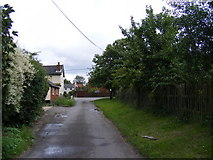 TM4160 : Low Road, Friston by Geographer