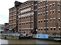 SO8218 : The National Waterways Museum, Llanthony Warehouse, Gloucester Docks by Christine Johnstone