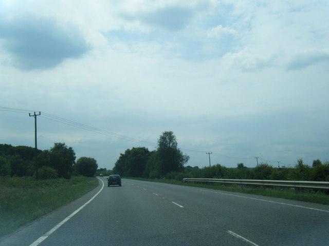 A507 near Brookside Farm