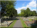 ST5677 : Canford Cemetery by Colin Bews