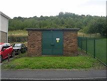 SE1537 : Electricity Substation No 1054 - Oswald Street by Betty Longbottom