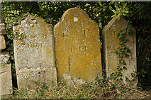 SP9599 : Humble headstones by Richard Croft