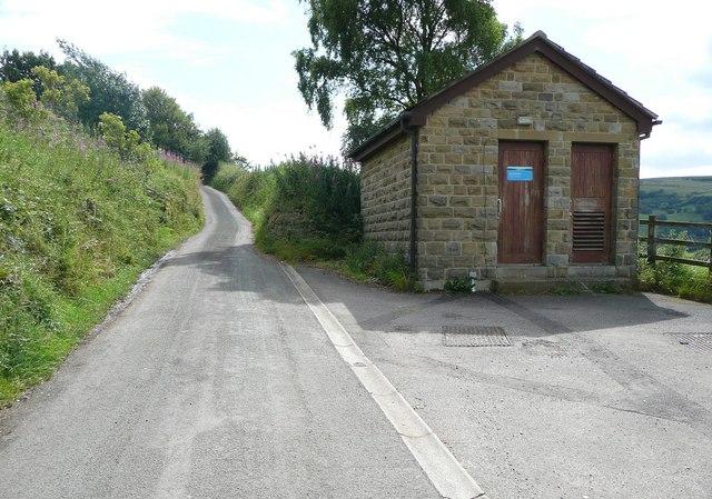 Mytholmroyd Pumping Station, Hall Bank Lane