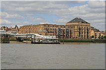 TQ3680 : Columbia Wharf by Chris Allen