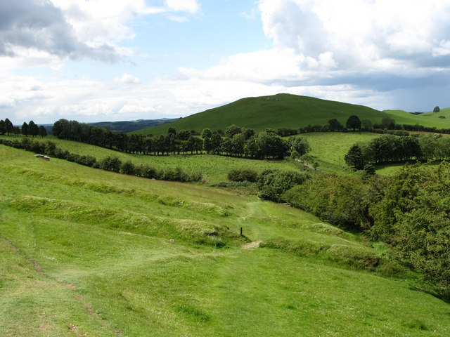 Field banks on Carnbane East, Lochcrew