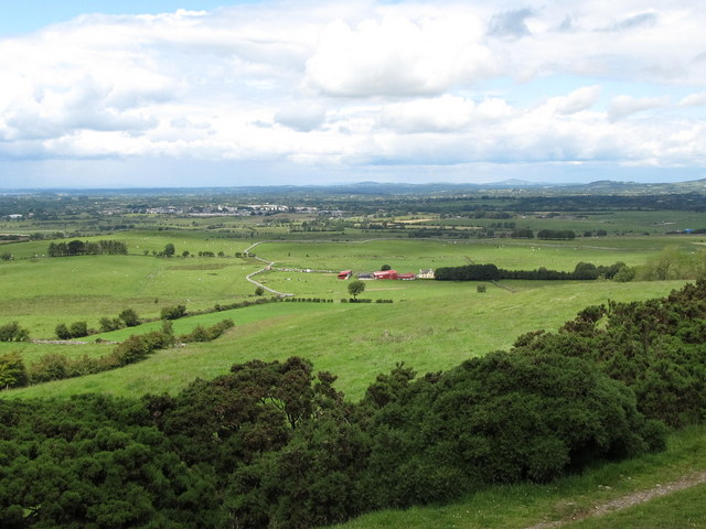 Farmland north of Carnbane East