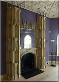 TQ1572 : The Holbein Chamber, Strawberry Hill House, Richmond by pam fray