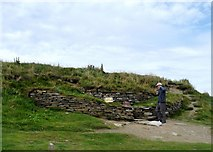 ND4784 : Tomb of the Eagles, South Ronaldsay by Alan Reid