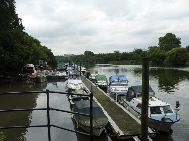 View of the Thames near Riverside, Richmond