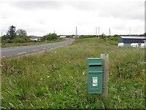 G6177 : Post box, Kilcasey by Kenneth  Allen