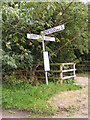 TG0627 : Roadsign on Chapel Road by Geographer