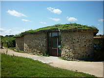 SE2779 : A posh hide at Nosterfield Nature Reserve by Ian S