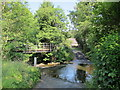 NY9258 : The ford at Whitley Mill by Mike Quinn