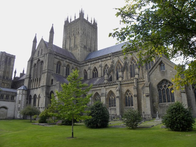 Wells Cathedral - a different view!