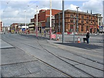 SD3036 : Tram tracks to nowhere by L S Wilson