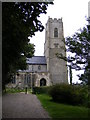 TG0826 : St. Andrew's Church, Wood Dalling by Adrian Cable