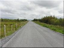 G7884 : Road at Meenadreen by Kenneth  Allen