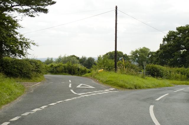Road Junction, Strickens Lane