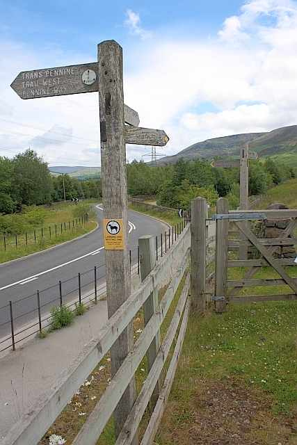 Footpath and Trail Signs