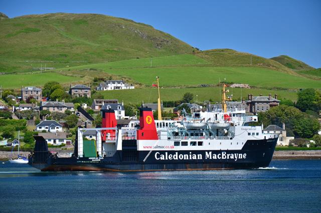 Hebridean Isles in Campbeltown harbour