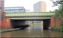 SJ8297 : Egerton Street Bridge by Mike Todd