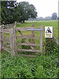 TG0723 : Kissing Gate of the footpath to The Grove by Adrian Cable