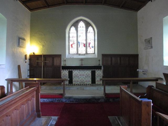 St. Helen's  Church, Whitley Chapel - chancel