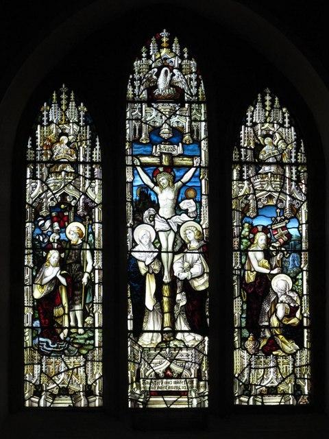 St. Helen's  Church, Whitley Chapel - east window