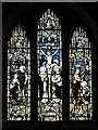NY9257 : St. Helen's  Church, Whitley Chapel - east window by Mike Quinn