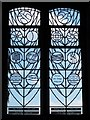 NY9257 : St. Helen's  Church, Whitley Chapel - stained glass window (3) by Mike Quinn