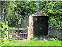 NY9257 : St. Helen's  Church, Whitley Chapel - former hearse house by Mike Quinn