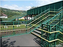 SE0026 : Footbridge MVN2 136, Mytholmroyd by Humphrey Bolton