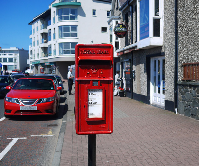 Postbox, Portstewart