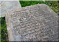 J4173 : Gravestone, Dundonald by Rossographer
