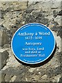 SP5106 : Blue plaque in Merton Street by Basher Eyre