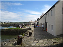 SW5130 : Harbour front houses, St Michael's Mount by Chris Holifield