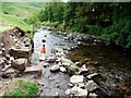 NT8610 : Archaeological excavation of Barrowburn Fulling Mill by Andrew Curtis