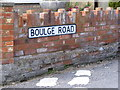 TM2450 : Boulge Road sign by Adrian Cable
