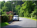 SU1727 : Minor road near Alderbury by Maigheach-gheal