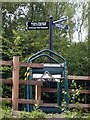 SE3521 : Southern Washlands, signpost 1 by Mike Kirby