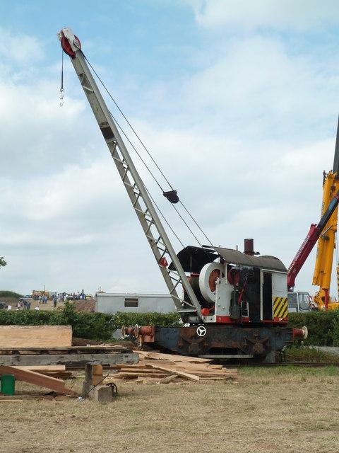 Welland Steam Rally - steam crane