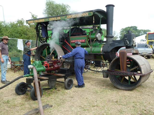 Welland Steam Rally - the watering station