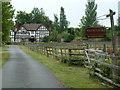 SO8040 : Willow Grange/Woodside House, Welland by Chris Allen