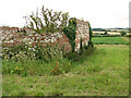 TF8641 : Ruined building in fields by Burnham Thorpe by Evelyn Simak