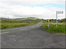 G7482 : N56 near Meengilcarry by Kenneth  Allen