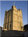 NZ1700 : Castle Keep, Richmond (N Yorks) by Paul Harrop