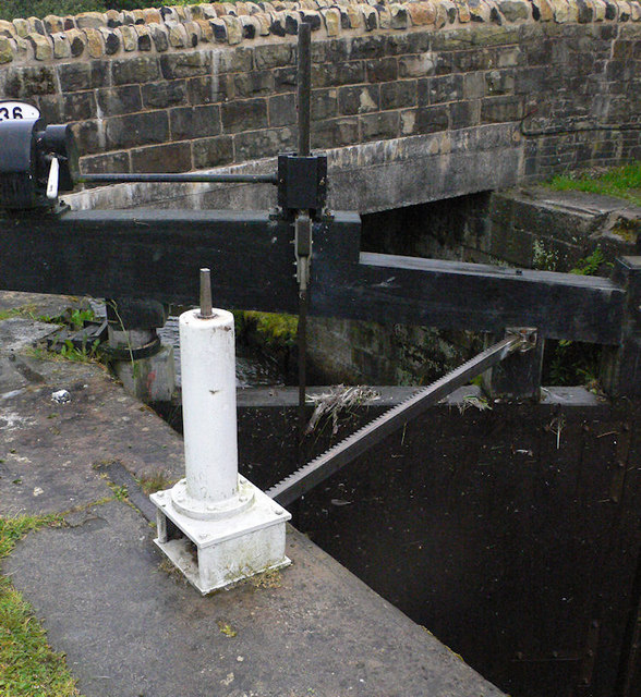 Lock 31 bottom gate mechanism
