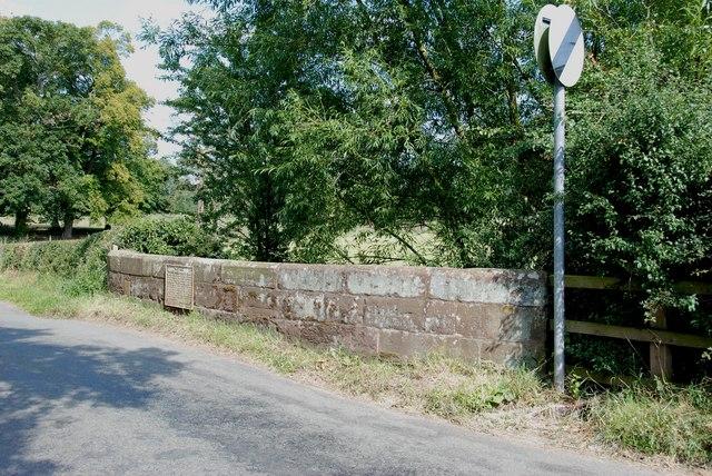 Bridge on Apeton to Church Eaton Road