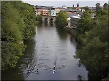 NZ2742 : River Wear, Durham by Paul Harrop