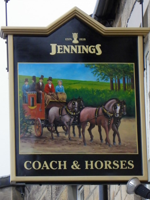 Sign for the Coach and Horses